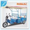 Romai 48V 650W e rickshaw for passenger with DCBL waterproof motor
