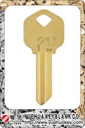 Top Sell KW1 Key Blank Kwikset Key Way Brass Door Key Blank for KW1 Blank Key Door Key Blank Lock