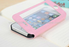 Smart Leather Phone case with Front Protectors for Iphone 5/5s