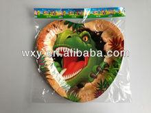 Birthday Dinosaur patterned tray