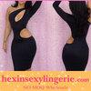 wholesale sexy black silk bodycon dresses knee length