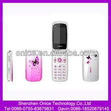 Female mobile phone W888 low end 2.4 inch 240*320 pixel screen Bluetooth,FM,MP3/MP4,GPRS flip phone