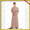best price for 100% COTTON Arabia man abaya man thobe farbic afghan thobe KDT520