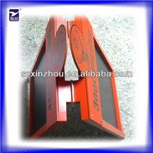 Alta calidad de doble cara de plástico marco pizarra