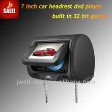 7 inch Headrest DVD player with 32 bit games