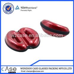 WZ PU EVA eyeglasses case with unique shape H44
