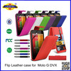 PU flip Leather Case Cover For Moto G--Laudtec