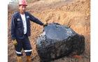 Gilsonite directly from the Miners (Natural Bitumen, Asphalt)