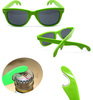 Hot selling bottle opener sunglasses ,wayfare style sunglasses with funny beer bottle opener