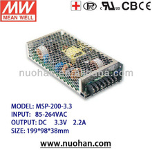 Mean well 200w 3.3V switching power supply 200W Medical Type power supply pfc psu 200w switch power supply