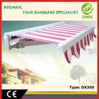#DX300 Large Outdoor Fireproof Canopy Awning for Villa with CE