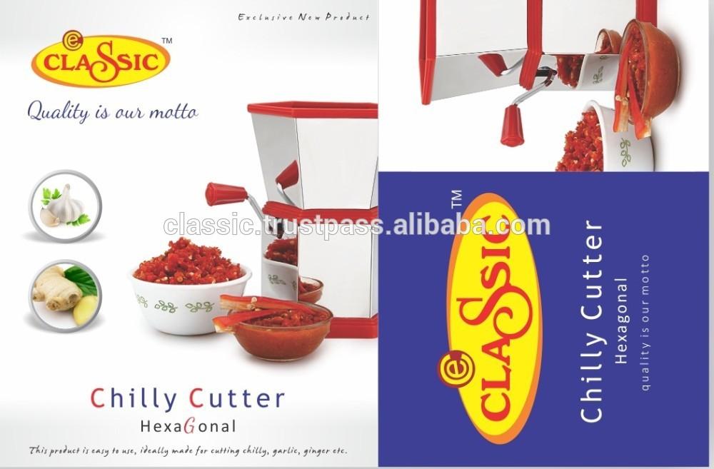 Manual de aço inoxidável cortador exportador de Rajkot frio Gujarat índia