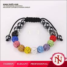 2014 latest fun loops rainbow loom bracelets B187