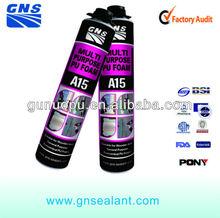 PVC gutter pu foam seal foam products