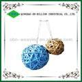 Venta al por mayor de mimbre tejida bola decorativa