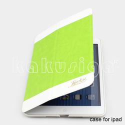 H&H professional pu leather smart cover case for good ipad mini/mini 2 case