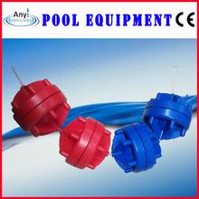 Swimming pool 15cm rgb lane ropes lane line,large pool floats