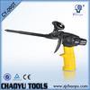 High quality teflon gun body rubber handle polyurethane foam spray gun CY-090T