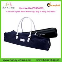 Stylish and convenient Yoga Sports Bag Durable large Yoga Mat Bag Pilate gym bag with PU handle