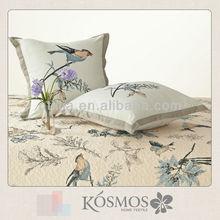 100% cotton beautiful deco pillow fashion designs embroidered cushion cover embroidery cushion cover