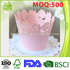 wholesale colorful design greaseproof paper cupcake wrappers from manufacture