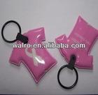 pvc eva key chain , 2013 popular custom design soft pvc led flashing keyrings with high quality, colorful logo