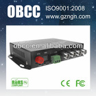 OBCC 4 channel coaxial video transmitter and receiver