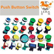 Miniature light push button switch