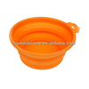 collapsible silicone pet food bowls,silicone dog bowl
