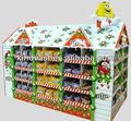 play house modelo mostrar palete de papelão para chocolate