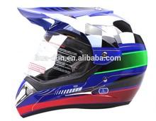 Capacete cross/fibra de carbono capacete com viseira, hd-803
