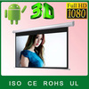 """No odor factory price wrold popular electric projector screen/high gain motorized projector screen 200"""" for home theatre"""