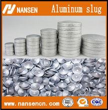 Tube aluminum slug(with hole or without hole