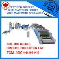 ZCM-1000 Needle Punching Production Line,Felt Making Machine,Geotextile Production Line