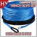 Hyropes HW0015 azul Color de cable de accesorios de torno de la cuerda del ancla