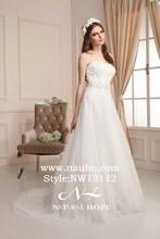 2014 Embroidery Romance Wedding dress destination maternity bridal gowns