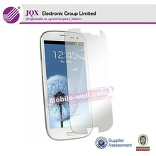 RoHS screen protector For Samsung Galaxy s3/s4/Note,with design cell phone clear tempered glass screen protector