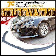 High Quality FiberGlass Jetta Front Lip For Volkswagen New Jetta /Sagitar Standard Bumper