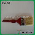 2.5 polegada rouge poignée en plastique peinture brosse / cheminée balayage