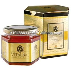 Vital Honey Top Quality Turkish Flower Honey in Mason Jar 450 gr GMP Halal