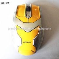 6d iron man computer optical mouse model