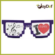 2014 Digital Pixel Wayfarer Style Pinhole Sunglass, Geeky Frame, Gift Idea