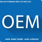 pressure solar water heater,(EN12976,CE,CCC,Keymark,SRCC)