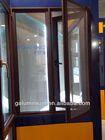 aluminium casement glass window with mosquito net