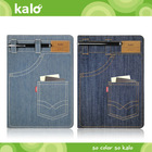 Colored leather case for iPad Air case