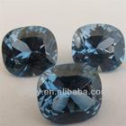 Beautiful Cushion Cut Decorative gems neelam stone