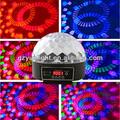 6CH DMX512 LED mini bola del Disco del partido del Laser luz de la decoración