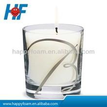 Vetro cera della candela candela vaso, Yankee Candle
