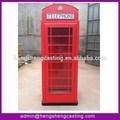 antiguo de color rojo de londres la cabina telefónica para la venta