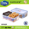 EASYLOCK chinese food container plastic designer cookie jars